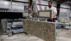 Wolde Flooring offers custom fabrication and installation of granite and marble countertops, vanity tops, fireplace surroundings and bartops in North Alabama.