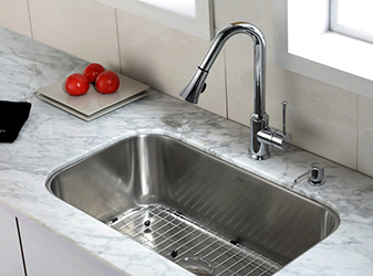 Pelican International sink and faucet