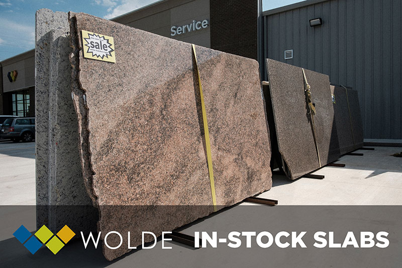 Wolde Flooring carries many in-stock slabs - come see our sales today!
