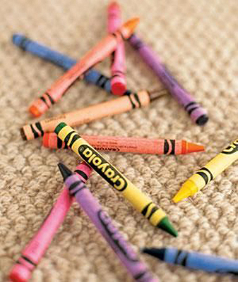 Oil Based Stains - crayons